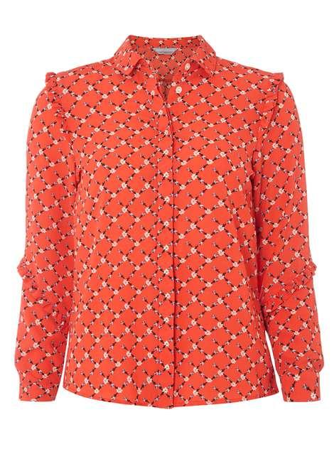 floral-ruffle-shirt