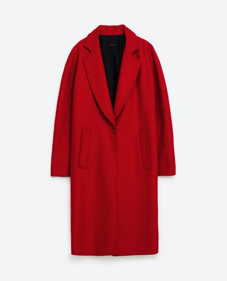 The Red Coat – Chloe Loves To Shop