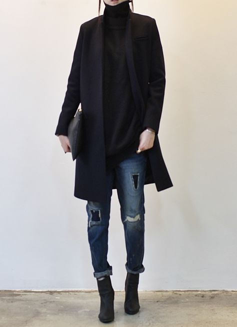 black-coat-and-jeans