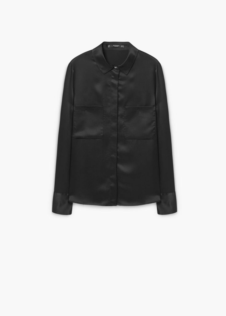 black-silk-shirt