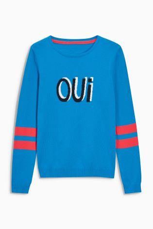 oui-novelty-sweater