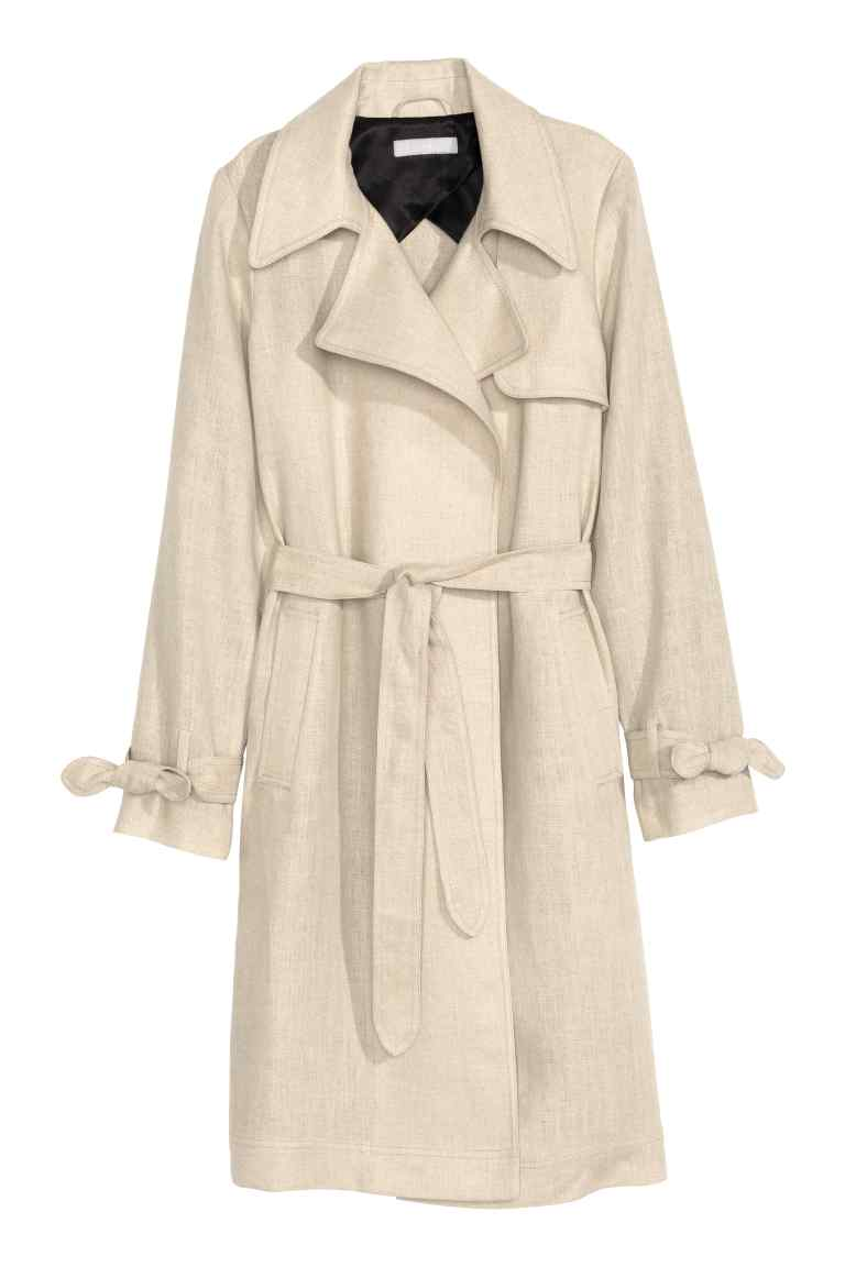 linen-trench