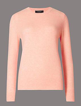 blush jumper