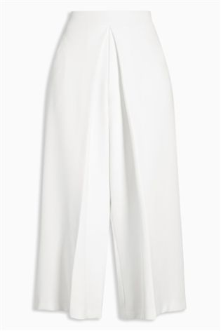 cream culottes