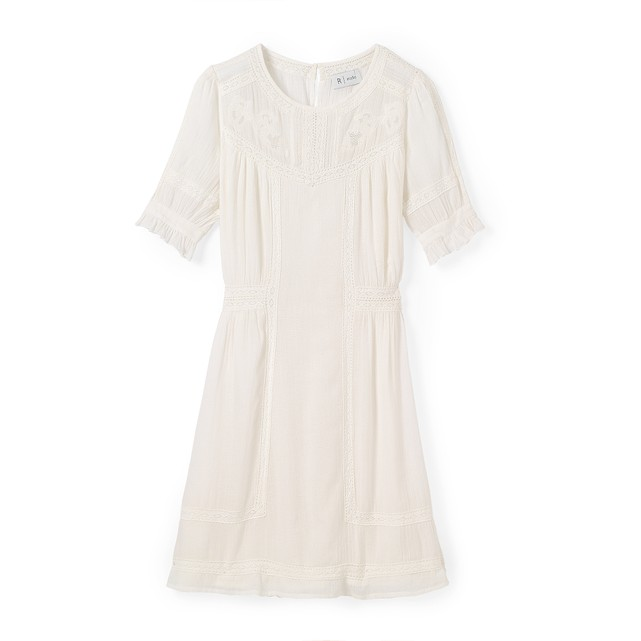 La redoute white cotton