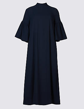 navy tunic dress
