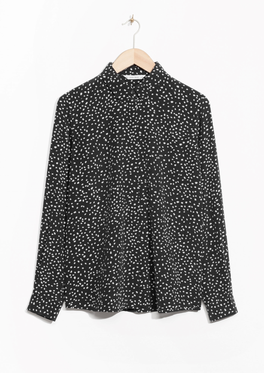 Dot print silk shirt.jpg