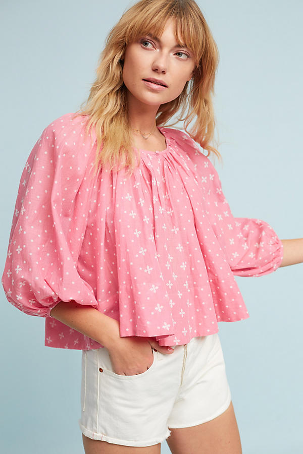 Pink peasant top.jpeg