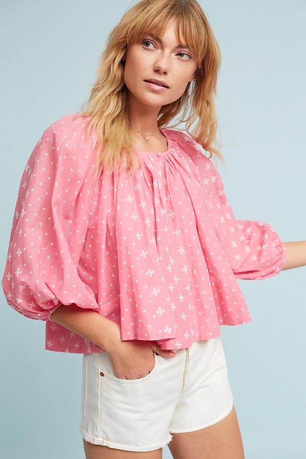 Pink peasant top.jpeg